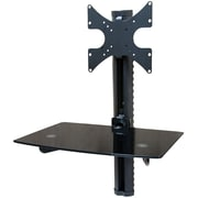 Mount-It! (MI-814B) DVD Component Wall Shelf