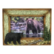 River's Edge Products 4'' x 6'' Bear Picture Frame