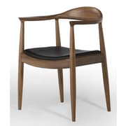 Aeon Furniture Saratoga Genuine Leather Upholstered Dining Chair
