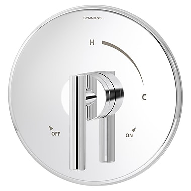 Symmons Dia Pressure Balance Shower Valve w/ Lever Handle; Chrome