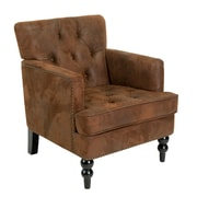 Home Loft Concepts Malone Tufted Armchair