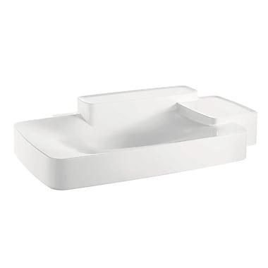 Axor Axor Bouroullec 8'' Wall Mount Bathroom Sink; 0 holes
