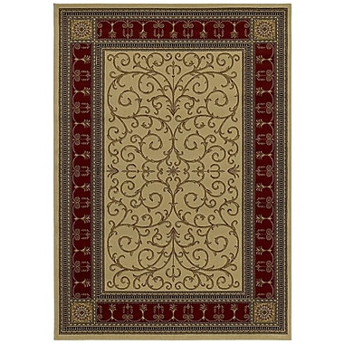 Mayberry Rug Hometown Paloma Claret Area Rug