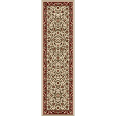 Mayberry Rug Hometown Classic Keshan Antique Area Rug; Runner 2' x 8'
