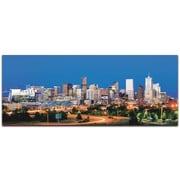 Metal Art Studio Denver City Skyline Photographic Print; Satin-Matte