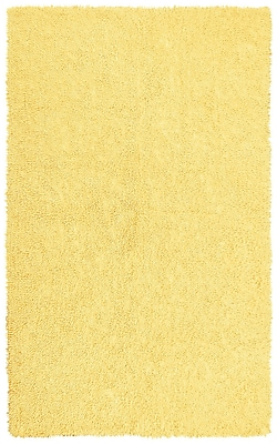 St. Croix Shagadelic Hand-Loomed Yellow Area Rug; Rectangle 1'9'' x 2'10''