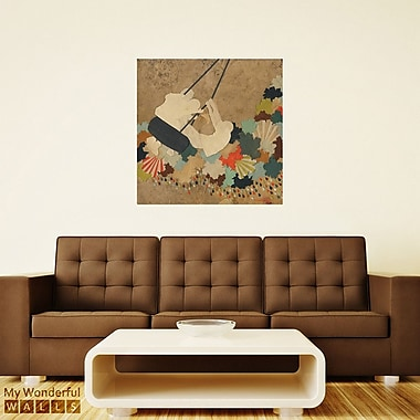 My Wonderful Walls Over the River Collage Wall Decal; Large