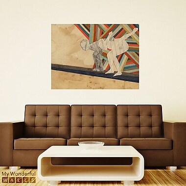 My Wonderful Walls Say Go Collage Wall Decal; Medium