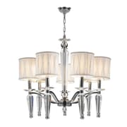 Worldwide Lighting Gatsby 7-Light Drum Chandelier