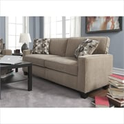 "Serta Santa Cruz Collection, 73"" Fabric Sofa, Platinum"