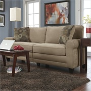 "Serta Copenhaugen Collection, 73"" Fabric Sofa, Vanity"