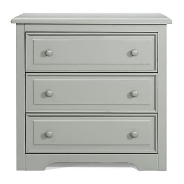 Graco 3-Drawer Dresser, Grey