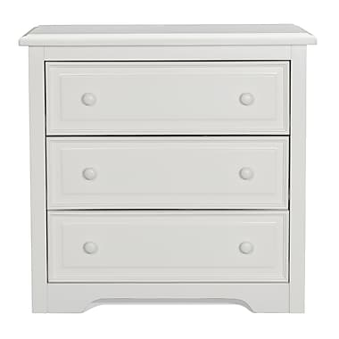 Graco 3-Drawer Dresser, White