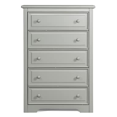 Graco 5-Drawer Dresser, Grey