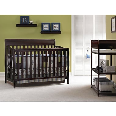 Graco Stanton 4-in-1 Convertible Crib, Cherry