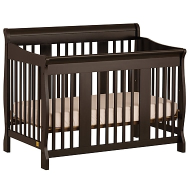 Stork Craft Tuscany 4-in-1 Convertible Crib, Black