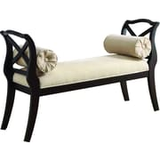 Hokku Designs Philipsberg Wood Bedroom Bench; Espresso