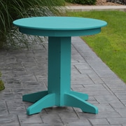A&L Furniture Dining Table; Blue