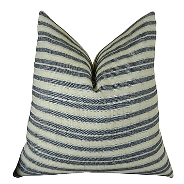 Plutus Brands Stone Manor Handmade Throw Pillow ; 24'' H x 24'' W