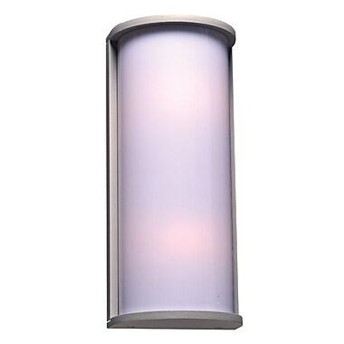 PLC Lighting Omni 2-Light Outdoor Flush Mount; Bronze