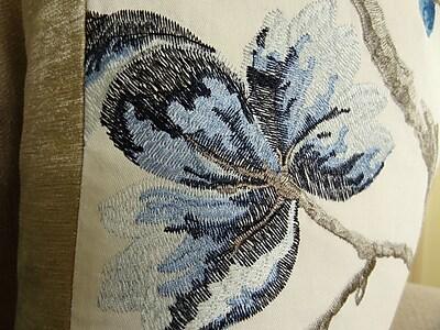 Plutus Brands Bloom City Handmade Cotton Throw Pillow ; 18'' H x 18'' W