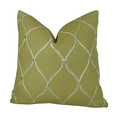 Plutus Brands Dewdrop Handmade Throw Pillow ; 24'' H x 24'' W