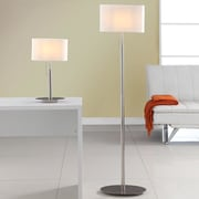 Artiva USA Audrey European 2 Piece Table and Floor Lamp Set