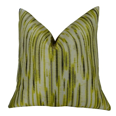 Plutus Brands Pinceaux Handmade Throw Pillow ; 22'' H x 22'' W