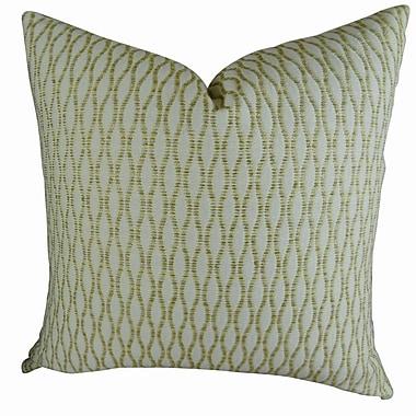 Plutus Brands Winding Road Zest Handmade Throw Pillow ; 18'' H x 18'' W