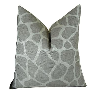 Plutus Brands Rocky Way Handmade Throw Pillow ; 24'' H x 24'' W