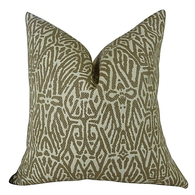 Plutus Brands Trendy Look Handmade Throw Pillow ; 22'' H x 22'' W
