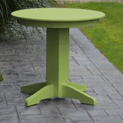 A&L Furniture Dining Table; Lime Green