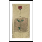 Global Gallery American Beauty Framed Painting Print; 42'' H x 24'' W x 1.5'' D