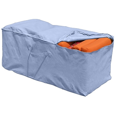 BudgeIndustries All-Seasons Cushion Storage Bag; Blue
