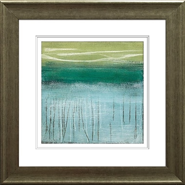 Star Creations ''Shoreline Memories I'' by Heather McAlpine Framed Painting Print