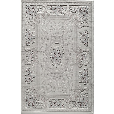 Rugs America Kensington Elspeth Ivory Area Rug; Rectangle 5' x 8'