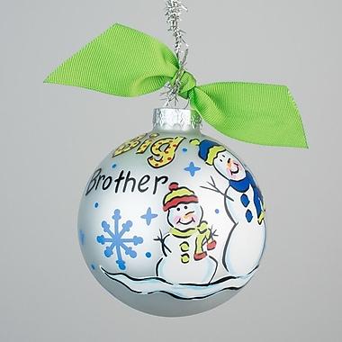 Glory Haus Big Brother Snowman Ornament