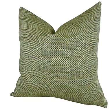 Plutus Brands Parsburg Handmade Throw Pillow ; 24'' H x 24'' W