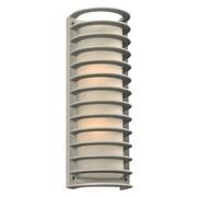 PLC Lighting Sunset 2-Light Outdoor Flush mount; Bronze