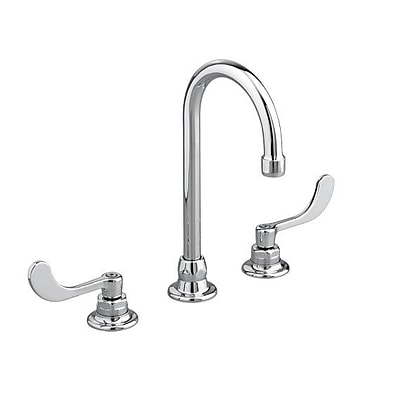 American Standard Monterrey Widespread Bathroom Faucet w/ Rigid / Swivel Gooseneck Spout