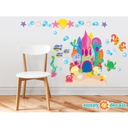 Sunny Decals Sand Castle Wall Decal; Jumbo