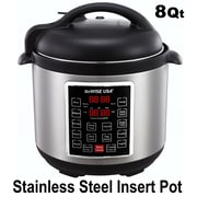 GoWISE USA 8-Quart 4th Generation Pressure Cooker