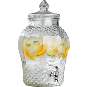 Home Essentials and Beyond Cellini Diamond Cut 384 oz. Beverage Dispenser