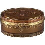 BradburnHome Oval Bronze Box