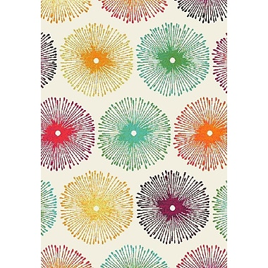 Dynamic Rugs Infinity Multicolor Area Rug; Rectangle 2 x 3'1''
