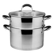 Prime Cook 8.5-qt. Stock Pot Set w/ Lid