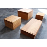 Bottles & Wood 4 Piece Step Riser Set