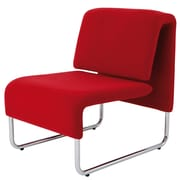Alba Reception Chair, Red (CHCOMFORTR)