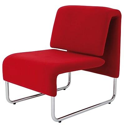 Alba Reception Chair, Red (CHCOMFORTR)