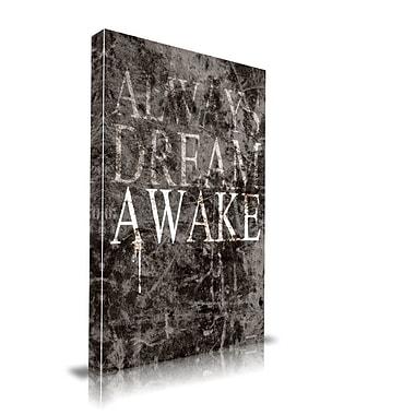 Maxwell Dickson ''Dream Awake'' Textual Art on Canvas; 16'' H x 20'' W